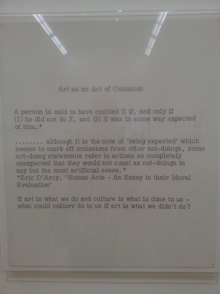 Keith Arnatt quote